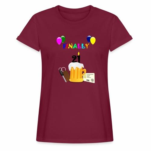 Finally 21 (2) - Women's Oversize T-Shirt