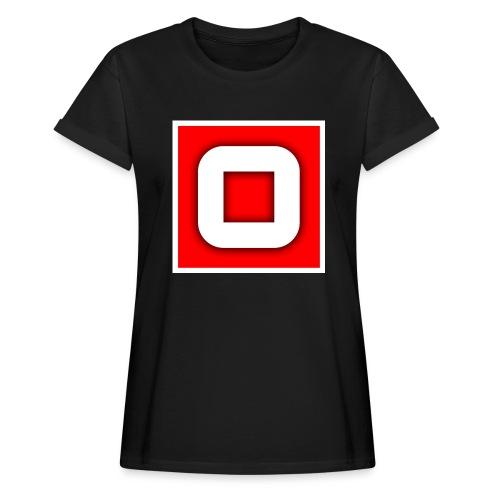 Vanlig Logo (tonåring) - Oversize-T-shirt dam