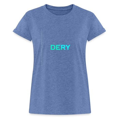 DERY - Frauen Oversize T-Shirt