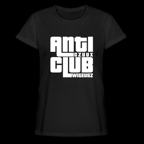 Anti Czuux Wigeusz Club - Koszulka damska oversize