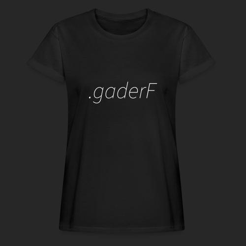 .gaderF - Oversize-T-shirt dam