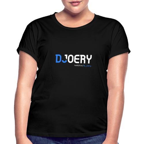 logo transparantbg whitetext - Vrouwen oversize T-shirt