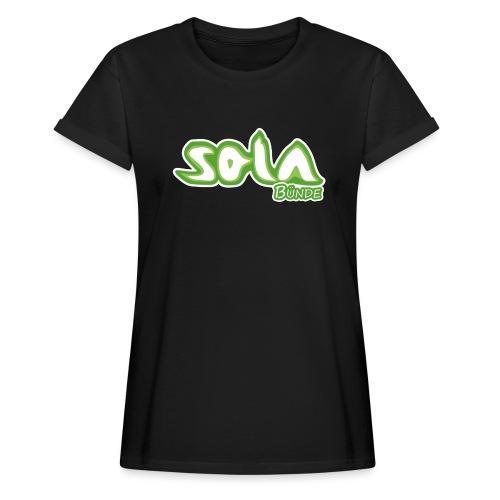 Sola Buende Logo 2017 - Frauen Oversize T-Shirt
