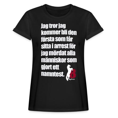HorseBook line - Oversize-T-shirt dam