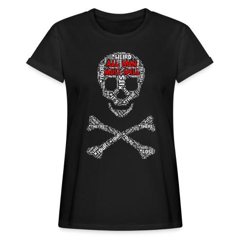 All Men Must Spell - Dame oversize T-shirt