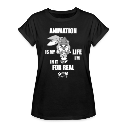 AMB Animation - In It For REAL - Women's Oversize T-Shirt