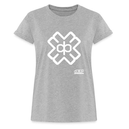 July D3EP Blue Tee - Women's Oversize T-Shirt
