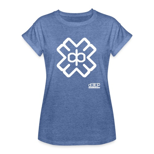 July D3EP Blue Tee - Women's Oversize T-Shirt