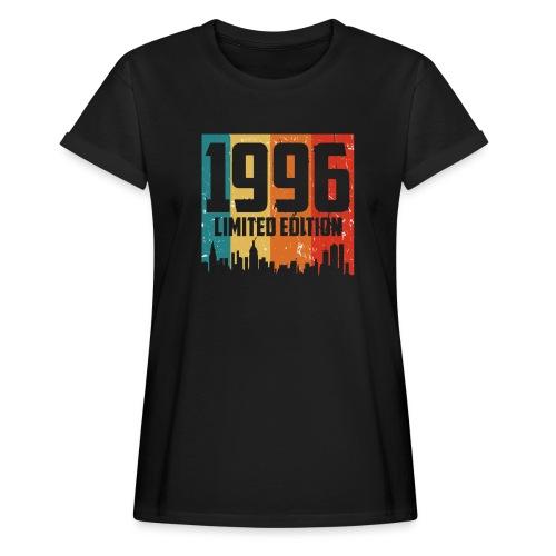 Vintage Geburtstag Limited Edition Jahrgang 1996 - Frauen Oversize T-Shirt