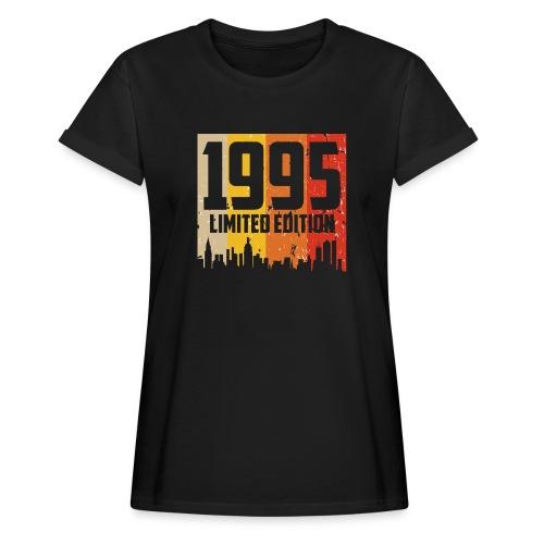 Vintage Geburtstag Limited Edition Jahrgang 1995 - Frauen Oversize T-Shirt