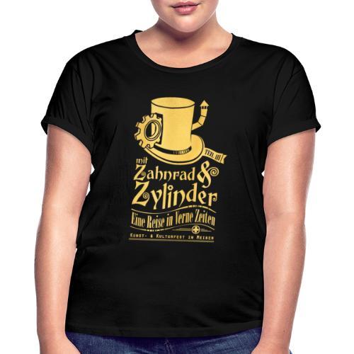 ZuZ 2019 Brustmotiv - Frauen Oversize T-Shirt