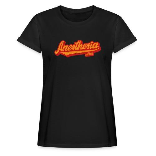 Baseball Logo - Grunge - Frauen Oversize T-Shirt