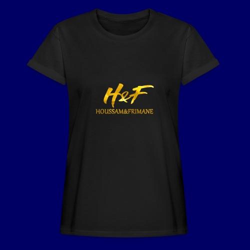 h f gold2 - Maglietta ampia da donna