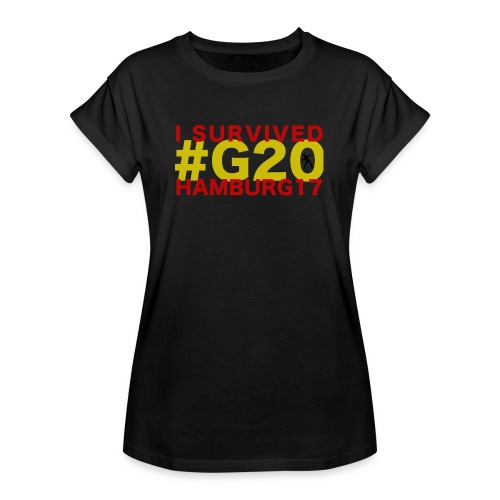 G20 transparent - Frauen Oversize T-Shirt