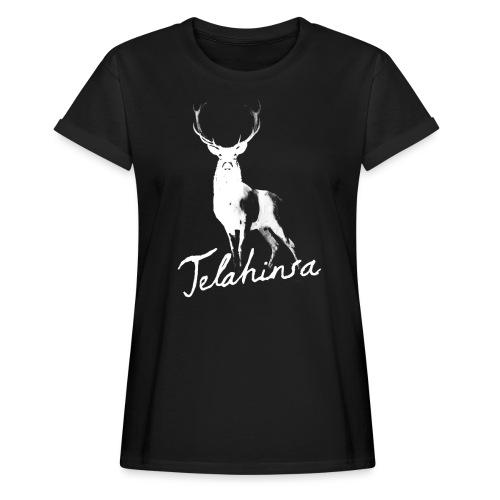 Deer - Vrouwen oversize T-shirt