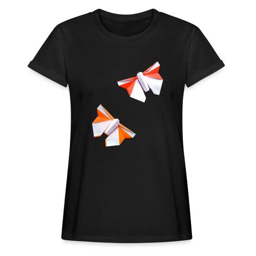 Butterflies Origami - Butterflies - Mariposas - Women's Oversize T-Shirt