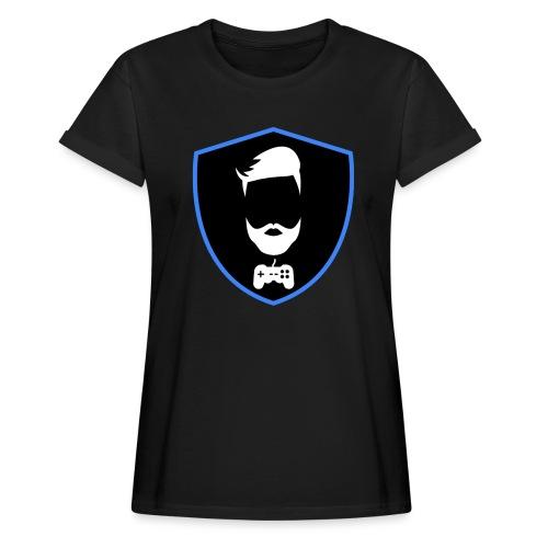 Kalzifertv-logo - Dame oversize T-shirt