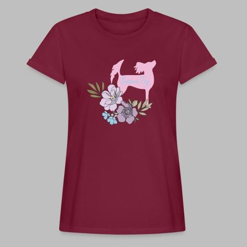 kukkakangasPK - Naisten oversized-t-paita
