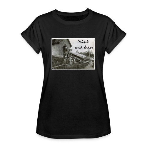 drink and drive - Oversize-T-shirt dam
