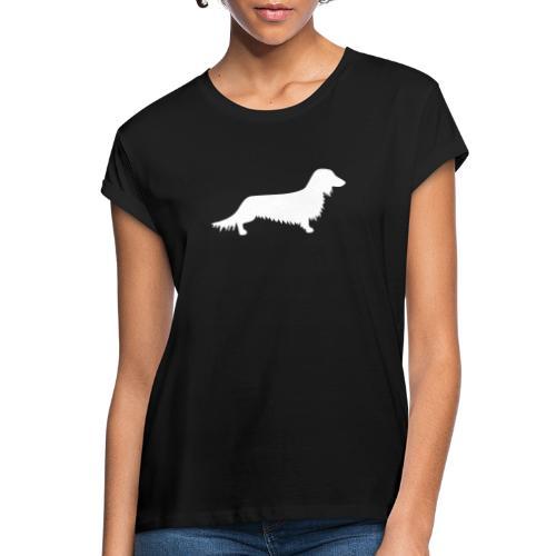 Langhaardackel - Frauen Oversize T-Shirt