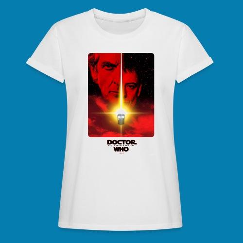 Twelfth Doctor and the Master poster - Maglietta ampia da donna