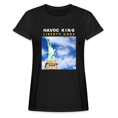 Havoc King Cover - Frauen Oversize T-Shirt