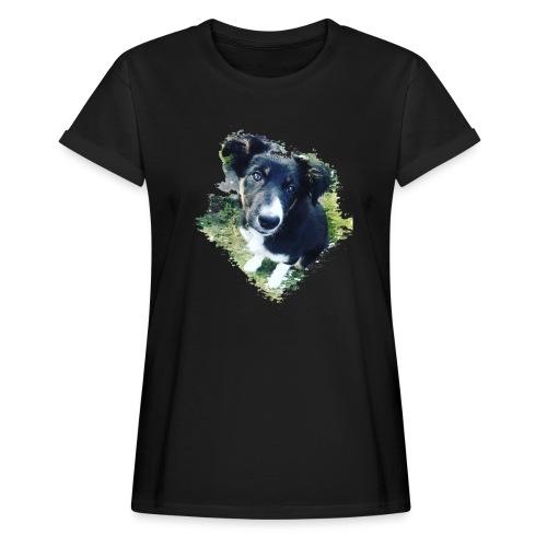 colliegermanshepherdpup - Women's Oversize T-Shirt