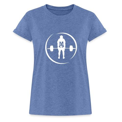 StrongMike White - Oversize-T-shirt dam