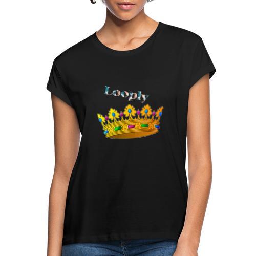 Monsieur roi - T-shirt oversize Femme