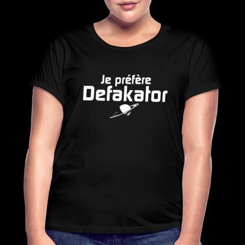 Je préfère Defakator - T-shirt oversize Femme