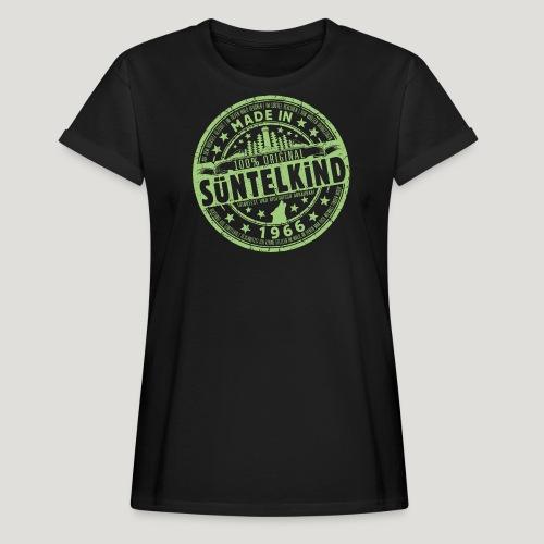 SÜNTELKIND 1966 - Das Süntel Shirt mit Süntelturm - Frauen Oversize T-Shirt