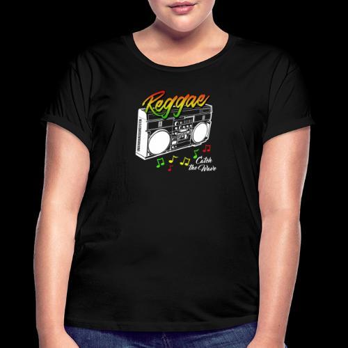 Reggae - Catch the Wave - Frauen Oversize T-Shirt