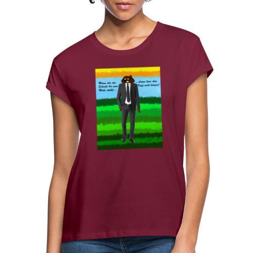 scheiß design - Frauen Oversize T-Shirt