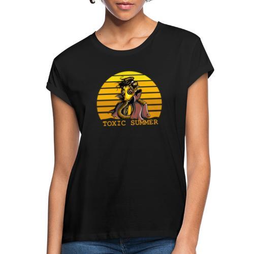 Toxic Summer - Camiseta holgada de mujer