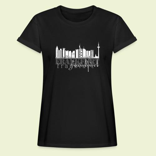 FFM - Frankfurt Skyline - Frauen Oversize T-Shirt