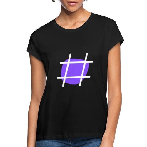 Cool Hashtag - Frauen Oversize T-Shirt