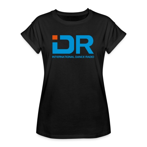 International Dance Radio - Camiseta holgada de mujer