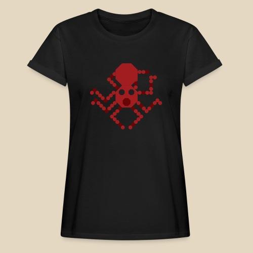 Octopus - T-shirt oversize Femme