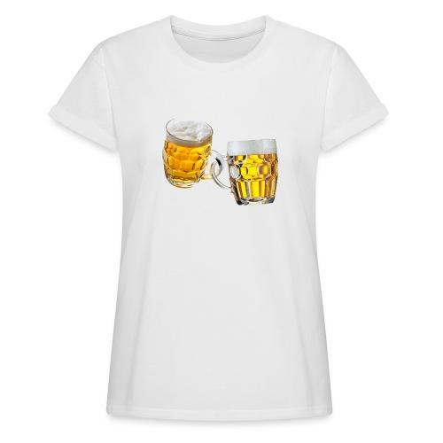 Boccali di birra - Maglietta ampia da donna