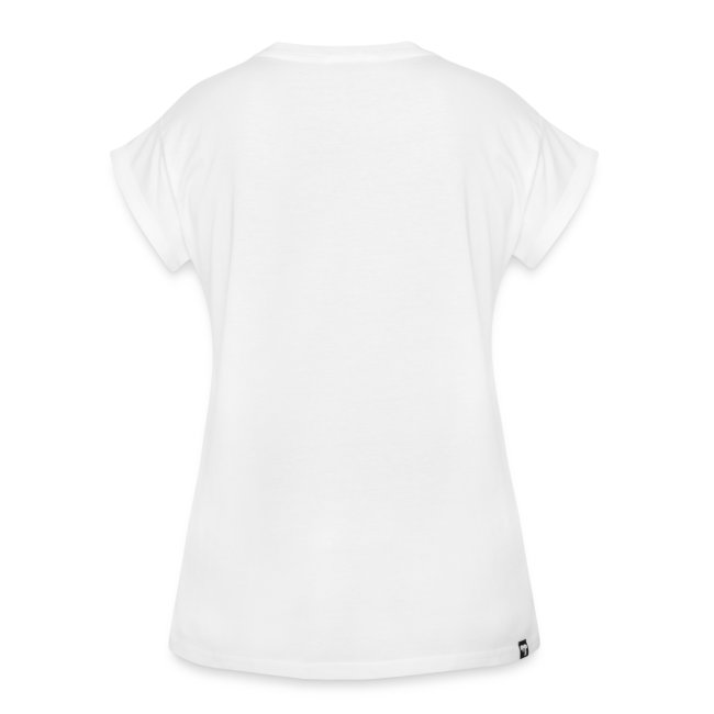 White, Black T-shirt