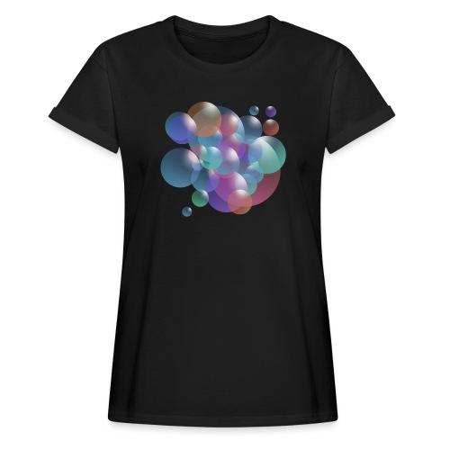 bubble - Frauen Oversize T-Shirt