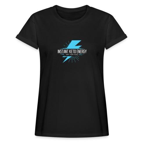 instantketoenergy - Frauen Oversize T-Shirt