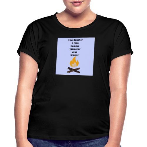 c pour les homme qui sont pris - T-shirt oversize Femme