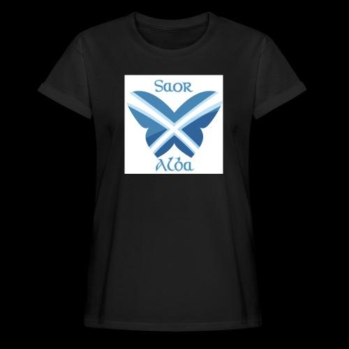 Saor Alba butterfly - Women's Oversize T-Shirt
