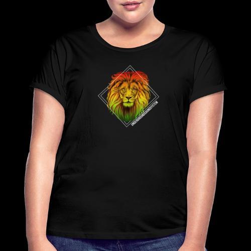 LION HEAD - UNDERGROUNDSOUNDSYSTEM - Frauen Oversize T-Shirt