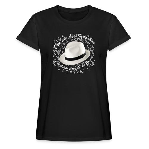 Dia de Los Indianos - Frauen Oversize T-Shirt