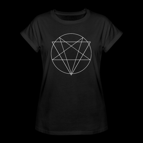 MANIFEST VIA SINISTRA BW - Women's Oversize T-Shirt