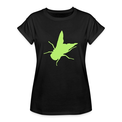 fliege - Frauen Oversize T-Shirt