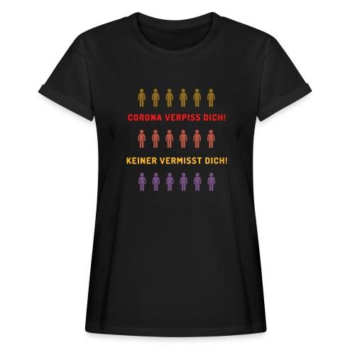 Corona - Frauen Oversize T-Shirt