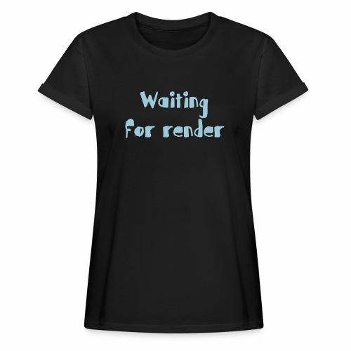 RENDER - Camiseta holgada de mujer